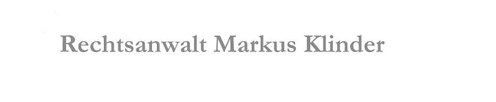Rechtsanwalt Markus Klinder